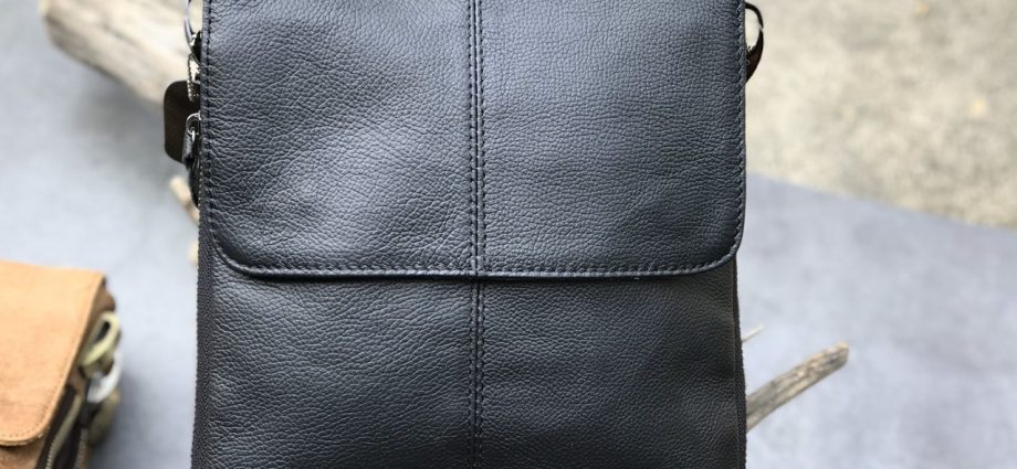 A Biker's Leather Clothing
